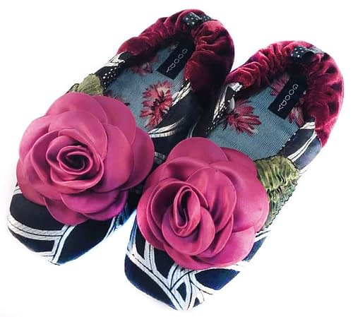 grand flora slippers by Goody Goody