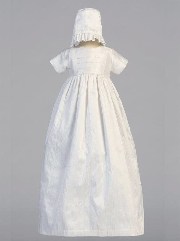 Unisex Christening Baptismal gown buy online Jamie girls' bonnet