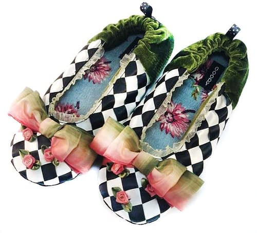 ombre slippers by goody goody