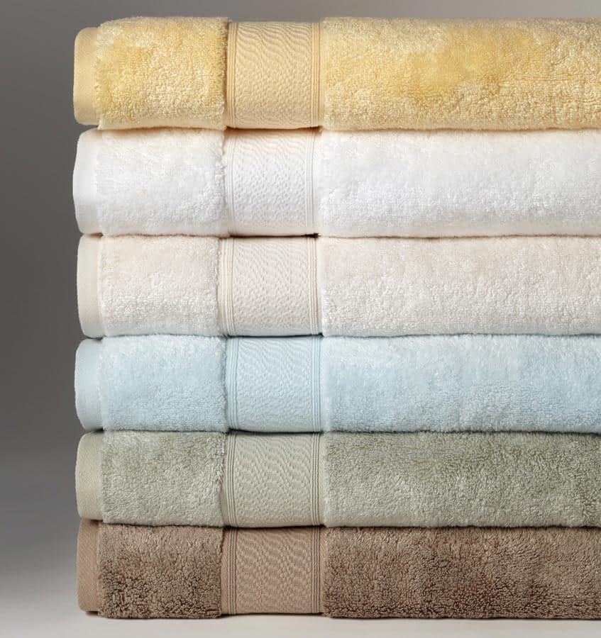Sferra Amira bath towels and linens