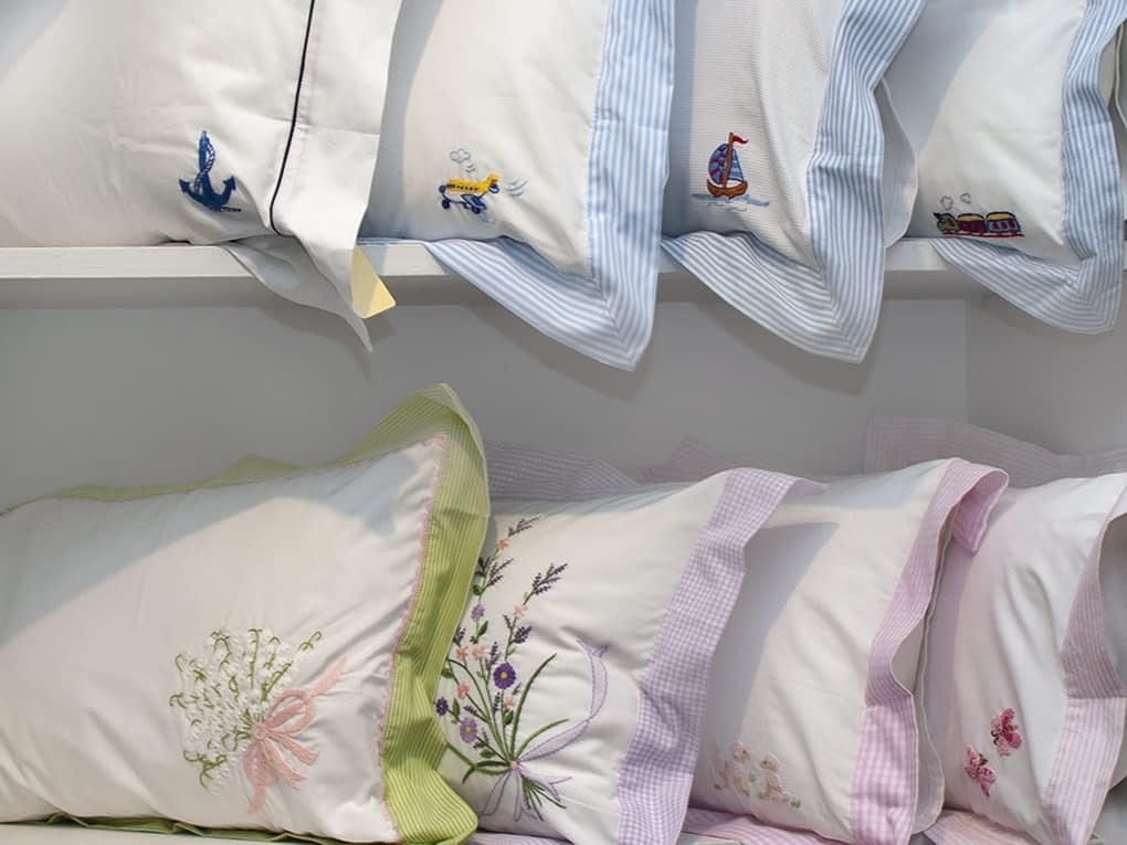 hand embroidered baby pillow shams buy online
