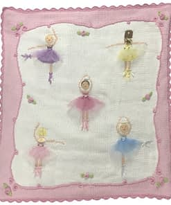 artwalk le ballet hand knit baby blanket 700sq