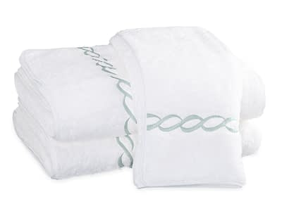 Matouk Classic Chain towels buy online discount authorized dealer Jade