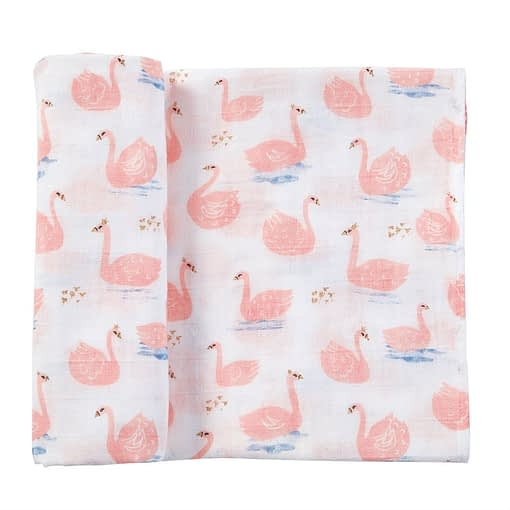 Online Washington DC Virginia Maryland Mud-Pie Baby Blankets Muslin Swan