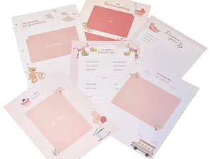 baby memory books by marcella books marcella books baby pages pink