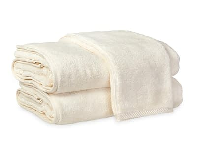 Matouk Milagro bath collection in ivory