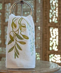 Anali Guest Towels Paradise on White Roma Terry
