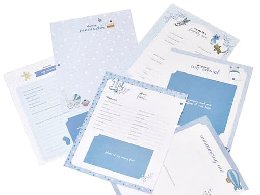 baby memory books by marcella books marcella books baby pages blue
