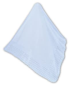 sarah-louise baby shawl 8j blue