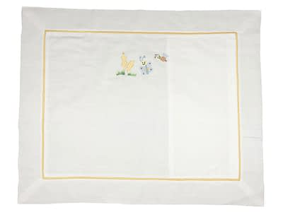 embroidered baby pillow shams bee and butterfly ps