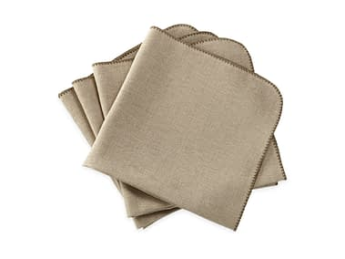 Washington DC Virginia Maryland Matouk Calypso napkins and tablecloths in stone