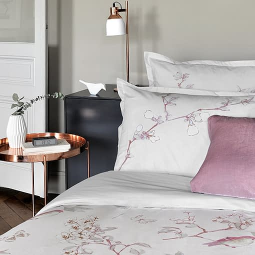 Poetry Bedding 2 by Julie Lavariere