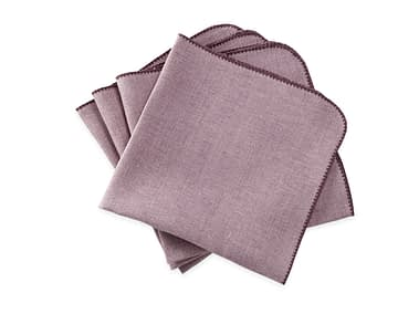 Washington DC Virginia Maryland Matouk Calypso napkins and tablecloths in fig
