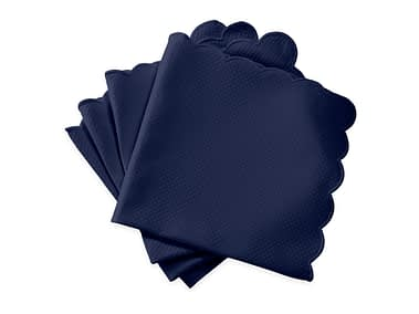 Washington DC Virginia Maryland Matouk Savannah Gardens table linens in navy