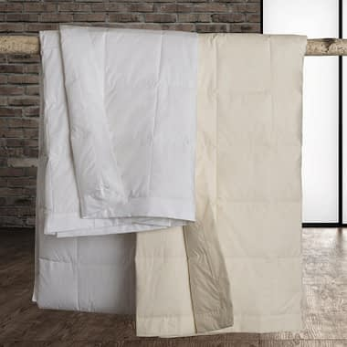Classic White Down Blanket by Downright