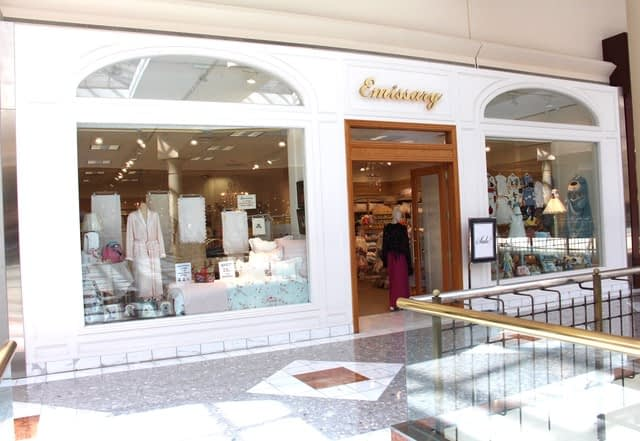 Emissary Fine Linens Store Front