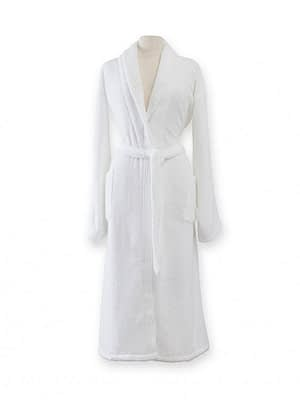sferra amira bathrobe white robe