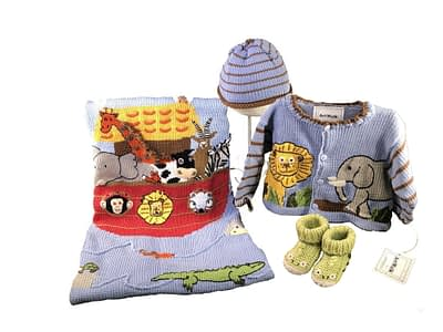 Art Walk Knit Set Noah's Ark