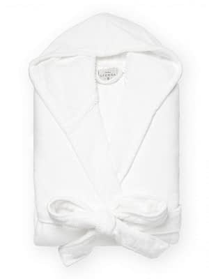 sferra canedo bathrobe white