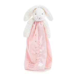 bunnies by the bay buddy blankets bloom bunny