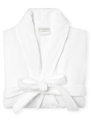 sferra fairfield robe white folded