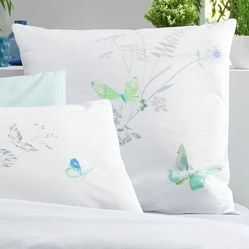 Butterfly Bedding 1 by Julie Lavariere
