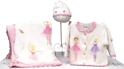 Art Walk blanket hat sweater set ballet 1234