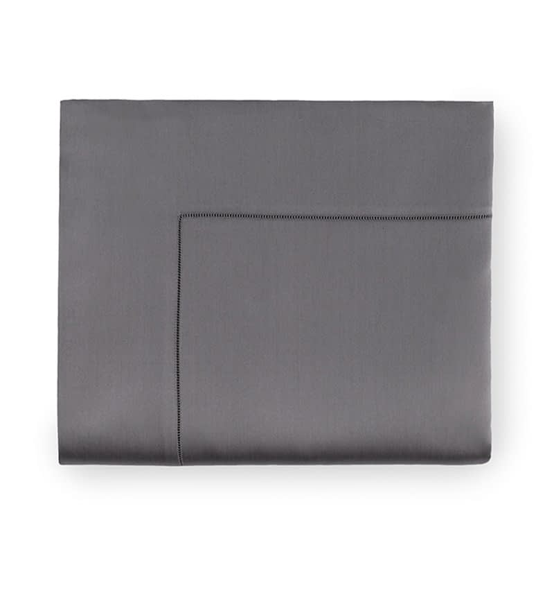 sferra giotto flat sheet titanium buy online and save