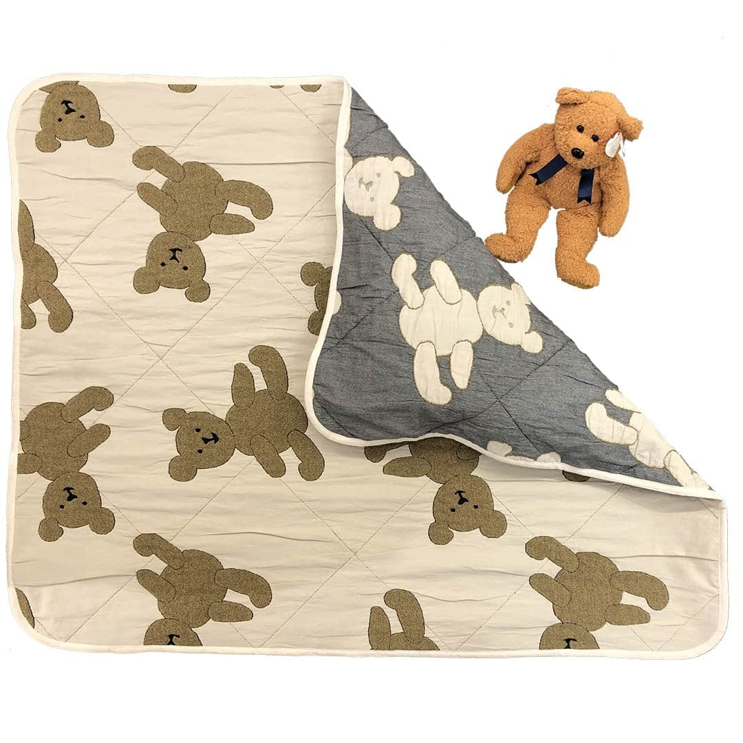 sdh teddy bear baby blanket