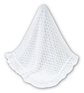 sarah louise baby shawl 31 white
