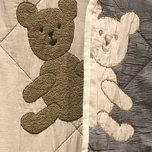 teddy blanky by SDH baby blanky buy online