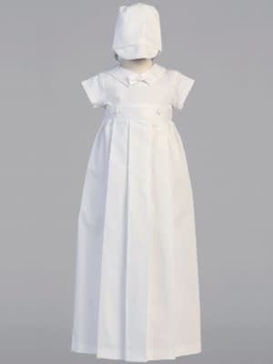 Boys Christening Baptismal gown and romper buy online Mason