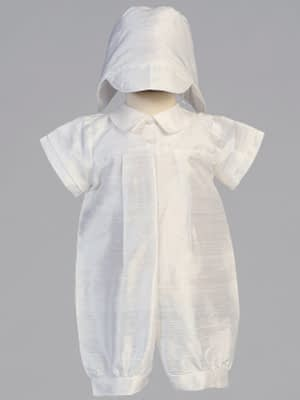 Washington DC Virginia Maryland Boys Christening Baptismal formal romper buy online or in our stores Conner