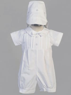 Washington DC Virginia Maryland Boys Christening Baptismal formal romper buy online or in our stores Liam