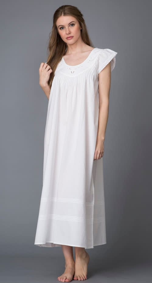 Dona Aurora handcrafted nightgown